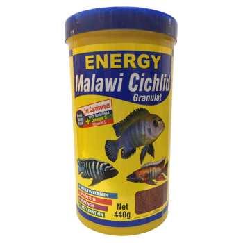 غذا ماهی انرژی مدل Malawi Cichilid Granulat وزن 440 گرم
