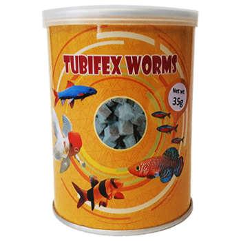 غذای ماهی توبیفکس ورمز کد 1 وزن 35 گرم