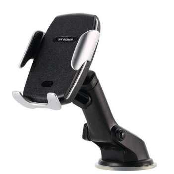 پایه نگهدارنده و شارژر بی سیم گوشی موبایل دبلیوکی مدل WP-U44