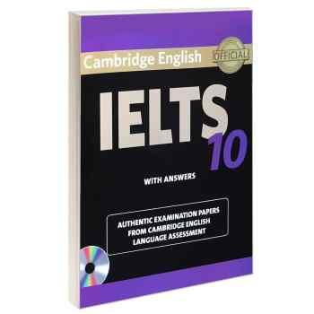 کتاب IELTS 10 اثر جمعی از نویسندگان انتشارات Cambridge