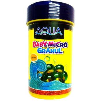 غذای بچه ماهی آکوا مدل Baby Micro Granul وزن 250 میلی لیتر