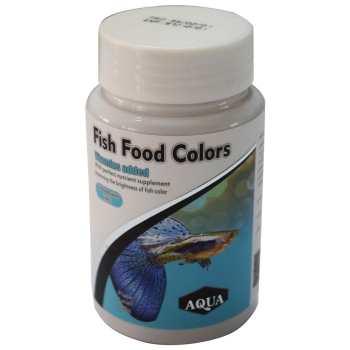 غذای آکوا مدل رنگدانه ماهی های ریز- حجم 100 گرم