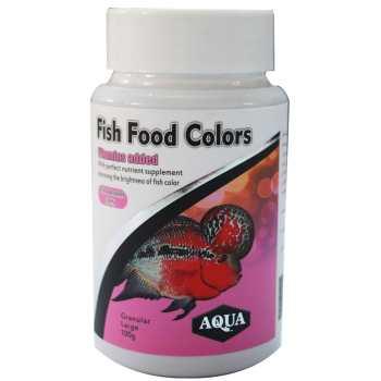 غذای آکوا مدل رنگدانه ماهی فلاورها و سیچیلایدها - حجم 100 گرم