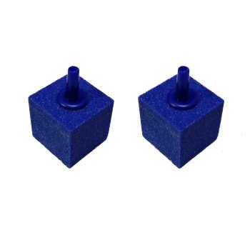 سنگ هوا آکواریوم طرح مکعب مجموعه 2 عددی