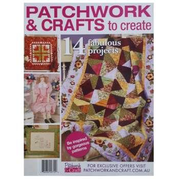 مجله Patchwork and Crafts to Create ژانويه 2020