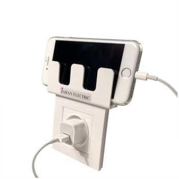 نگهدارنده موبایل در هنگام شارژ جهان الکتریک مدل Si8  بسته 4 عددی