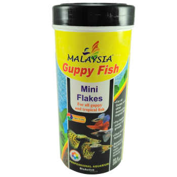 غذای ماهی مالزی مدل Guppy fish وزن 50 گرم