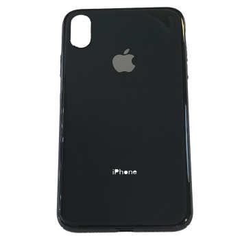 کاور طرح شیشه ای مدل My Case مناسب برای گوشی موبایل اپل آیفون Xs Max            غیر اصل