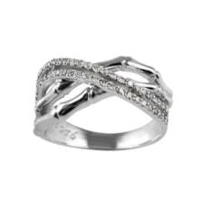 انگشتر طلا 18 عیار جواهری سون مدل 2052