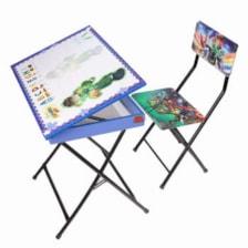 میز تحریر باکسدار و صندلی طرح بن تن وایت بردی،تاشو،تنظیم شونده ارتفاع