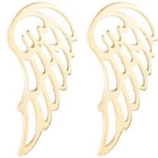 گوشواره نقره طرح بال فرشته کد 01