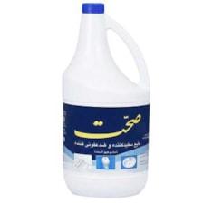 مایع سفید کننده و ضد عفونی کننده صحت مقدار 4 کیلو گرم