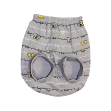 شورت عینکی نوزادی پسرانه طرح YG