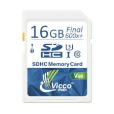 کارت حافظه SDHC ویکومن مدل Extra 600X کلاس 10استاندارد UHS-I سرعت 90MBS ظرفیت 16 گیگابایت