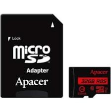 کارت حافظه microSDHC اپیسر کلاس 10 استاندارد UHS-I U1 سرعت 85MBps به همراه آداپتور SD ظرفیت 32 گیگابایت