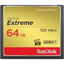 کارت حافظه CompactFlash سن دیسک مدل Extreme سرعت 800X 120MBps ظرفیت 64 گیگابایت