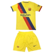 پیراهن و شورت ورزشی پسرانه طرح بارسلونا مدل Barca1-25            غیر اصل