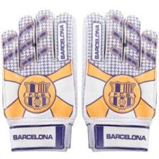 دستکش دروازه بانی پسرانه طرح بارسلونا کد L90