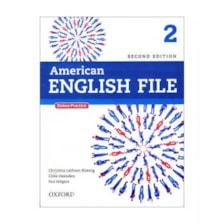 کتاب  American English File 2 اثر جمعی از نویسندگان انتشارات Oxford