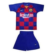 ست تی شرت و شلوارک ورزشی پسرانه کد 3019bar            غیر اصل