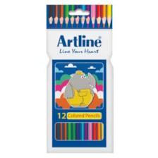 مداد رنگی 12 رنگ آرت لاین مدل ECP12-PIL