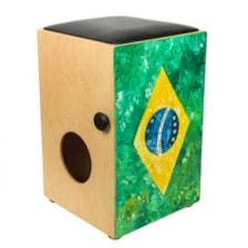 کاخن سفیدار طرح پرچم برزیل مدل بینگو بنگو