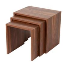 میز عسلی مدل HEA 4 مجموعه 3 عددی