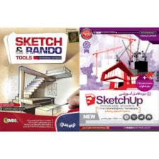 نرم افزار آموزش  SketchUP نشر پدیده به همراه نرم افزار SKETCH & RANDO نشر نوین پندار
