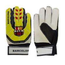 دستکش دروازه بانی پسرانه طرح بارسلونا مدل BR5S