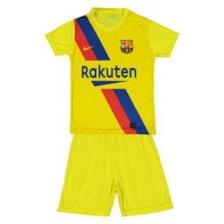ست پیراهن و شورت ورزشی پسرانه طرح بارسلونا مدل مسی کد psh009            غیر اصل