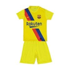 ست پیراهن و شورت ورزشی پسرانه طرح بارسلونا مدل 002            غیر اصل