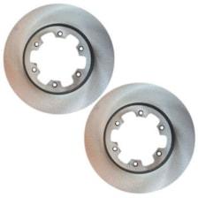 دیسک ترمز چرخ جلو کد 3256 مناسب برای پیکاپ بسته دو عددی