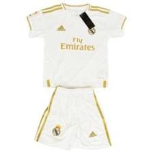 ست پیراهن و شورت ورزشی پسرانه طرح رئال مادرید کد 201920 رنگ سفید            غیر اصل
