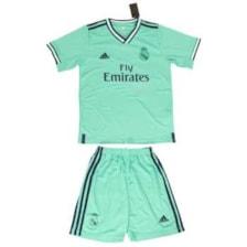 ست پیراهن و شورت ورزشی پسرانه طرح رئال مادرید کد 201920 رنگ سبز            غیر اصل