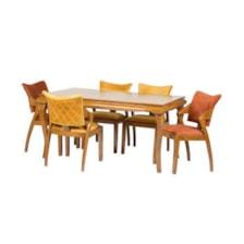 میز و صندلی ناهار خوری مدل ایوان کد 026