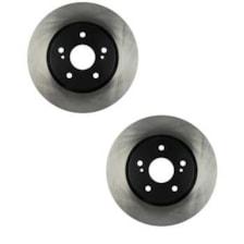 دیسک ترمز چرخ جلو الیگ مدل DCAA01 مناسب برای برلیانس H330 بسته دو عددی