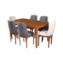 میز و صندلی ناهارخوری مدل سورن کد 015