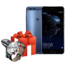 گوشی موبایل هوآوی مدل P10 Plus VKY-L29 دو سیم کارت به همراه ساعت هوشمند و مودم 4G هوآوی