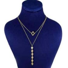 گردنبند طلا 18 عیار زنانه کانیار گالری کد 12546