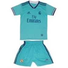 ست پیراهن و شورت ورزشی پسرانه طرح رئال مادرید کد 20203            غیر اصل