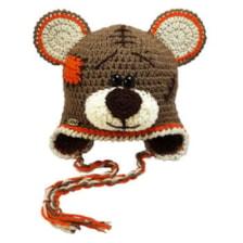 کلاه بافتنی پسرانه طرح خرس