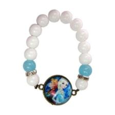 دستبند دخترانه طرح السا و آنا کد 009