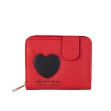 کیف پول دخترانه طرح قلب کد k2