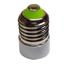 تبدیل سرپیچ لامپ E27 به E14 کد 110