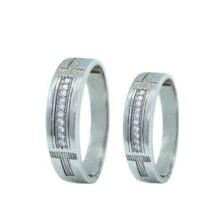 ست انگشتر نقره زنانه و مردانه کد TSVR0013