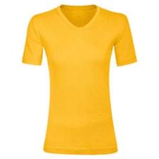 تی شرت زنانه کد e رنگ زرد