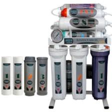 دستگاه تصفیه کننده آب آکوآکلیر مدل NEWDESIGN 2020 - ALN10 به همراه فیلتر دستگاه تصفیه کننده آب بسته 4 عددی