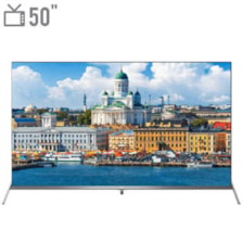 تلویزیون ال ای دی هوشمند تی سی ال مدل 50P8S سایز 50 اینچ