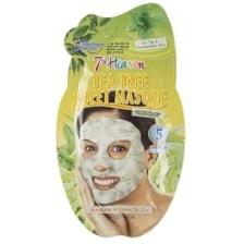 ماسک صورت نقابی مونته ژنه سری 7th Heaven مدل Tea Tree -  یک ورق