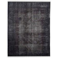 فرش دستبافت رنگ شده هشت متری طرح وینتج کد 981178
